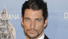 David Gandy wears a 3-piece suit in Madrid: perfection or too neck-beardy?