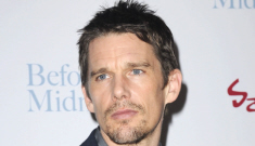 Ethan Hawke on Angelina Jolie: 'When she kisses you, you don't know your name'