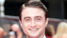 Daniel Radcliffe: 'I love getting beaten up. I encourage people to just hit me'