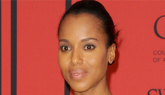 Kerry Washington in canary Jason Wu at the CDFAs: lovely or too much?