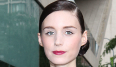 Rooney Mara in black Calvin Klein at the CFDA Awards: surprisingly good?