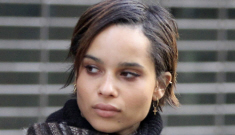 Zoe Kravitz & Penn Badgley break up after two years together, sad
