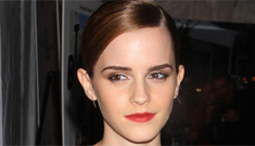 Emma Watson in an LBD to promote 'Bling Ring' in NYC: quite lovely or boring?