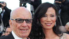 Rupert Murdoch filed for divorce from his young 'tiger wife,' Wendi Deng