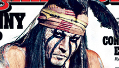 Johnny Depp finally talks about the Vanessa breakup to promote 'Lone Ranger'