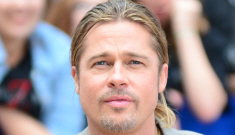 Brad Pitt says Maddox Jolie-Pitt gets 'double-tapped' in the head in 'WWZ'