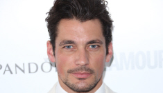David Gandy, 33, has a new girlfriend: 22-year-old 'Les Mis' star Samantha Barks