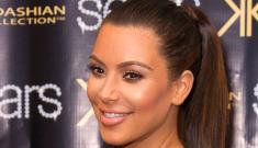 Kim Kardashian wants to 'get back down to her 115 lb pre-pregnancy weight'