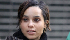 Did Penn Badgely dump Zoe Kravitz because he couldn't handle her bisexuality?