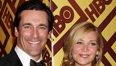 Jon Hamm gets hammered at the Globe after-parties