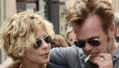 John Mellencamp & Meg Ryan are still a thing, two & a half years later: surprising?