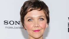 Maggie Gyllenhaal in Dior at 'White House Down' premiere: crazy or cute?