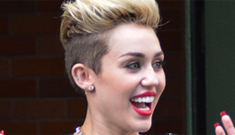 Miley Cyrus twerks in a fuzzy diaper on 'GMA,' claims she's always high