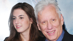 James Woods' 20-year old girlfriend was arrested for possession in Georgia