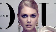 Kate Upton covers Vogue Brazil: total knockout or kind of cheap?