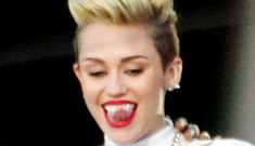Star: Miley Cyrus 'snorted white powder off the back of the toilet' at the Met Gala