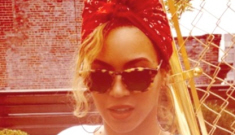 Beyonce posts photos of Blue Ivy's bejeweled crown, Tom Ford baby-heels