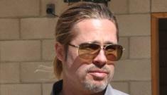 Brad Pitt & Shia LaBeouf visit Fort Irwin in preparation for WWII film 'Fury'