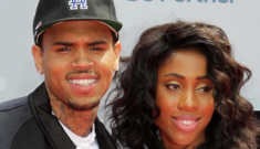 Did Chris Brown show off a new girlfriend at last night's BET Awards?