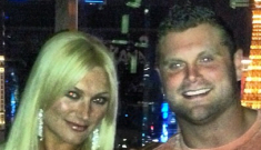 Brooke Hogan, 25, got engaged to Dallas Cowboy Phil Costa, 25, in Vegas
