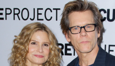 Kyra Sedgwick chopped off part of her finger & they still haven't found the tip
