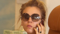Kaley Cuoco got pap'd at the nail salon: is she working an angle with Henry Cavill?
