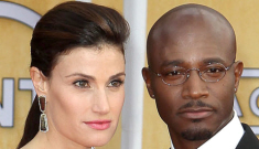 Star: Taye Diggs was grinding up on some club girl, cheating on his wife Idina