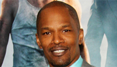 Is Jamie Foxx jealous of the love Channing Tatum got during their press tour?