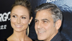 George Clooney & Stacy Keibler are over, she dumped him (update)