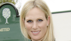 Zara Phillips-Tindall (daughter of Princess Anne) is expecting her first child