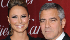 Stacy Keibler wants us to know she & George Clooney hadn't had sex in 'months'