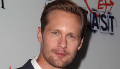 Alex Skarsgard says he & Ellen Page are 'friends' and 'dating actresses is hard'
