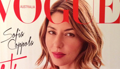 Sofia Coppola covers Vogue Australia: gorgeous & stunning or boring?