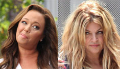 Kirstie Alley publicly mean girls Leah Remini for ditching Scientology