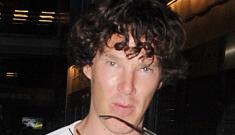 """Benedict Cumberbatch wears flip-flops, fug shorts for his birthday"" links"