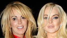 Dina Lohan is drunk off her face whenever she speaks to Lindsay in rehab