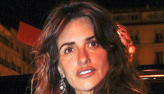 Penelope Cruz gave birth to her second child yesterday, the same day Duchess Kate