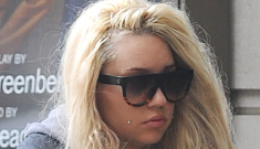 Amanda Bynes placed on 5150 hold in CA after setting fire to a driveway