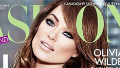 Olivia Wilde waxes rhapsodic about Jason Sudeikis … and Marchesa?