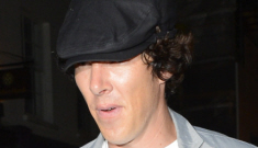 Benedict Cumberbatch's handsy redhead is Charlotte Asprey & they're just 'friends'
