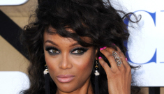 Tyra Banks wigs out at the CBS/CW Upfronts: fabulous or ridiculous?