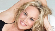 Sharon Stone is remarkably & naturally beautiful at any age, says Sharon Stone