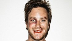 Is Armie Hammer's Men's Health pictorial a gross glamorization of violence?