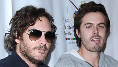 Casey Affleck will document Joaquin Phoenix's rap career