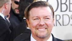 Ricky Gervais slams British media