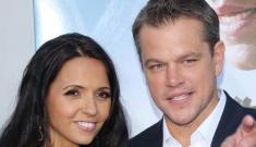 Matt Damon & Luciana at the LA 'Elysium' premiere: super-cute or boring?