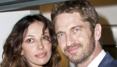 Surprise, surprise, Gerard Butler is cheating on his girlfriend with randoms