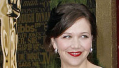 Maggie Gyllenhaal is sexy again; live blogging continued