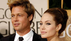 Why weren't Brad and Angelina at the Oscars?