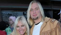 Linda Hogan makes out with 19 year-old boyfriend in front of her son